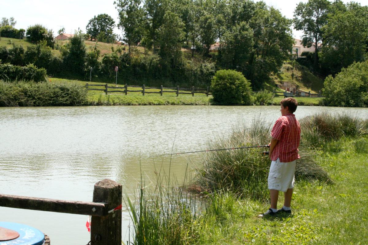 La pêche à la ligne se pratique en étang, en rivière et dans le canaux