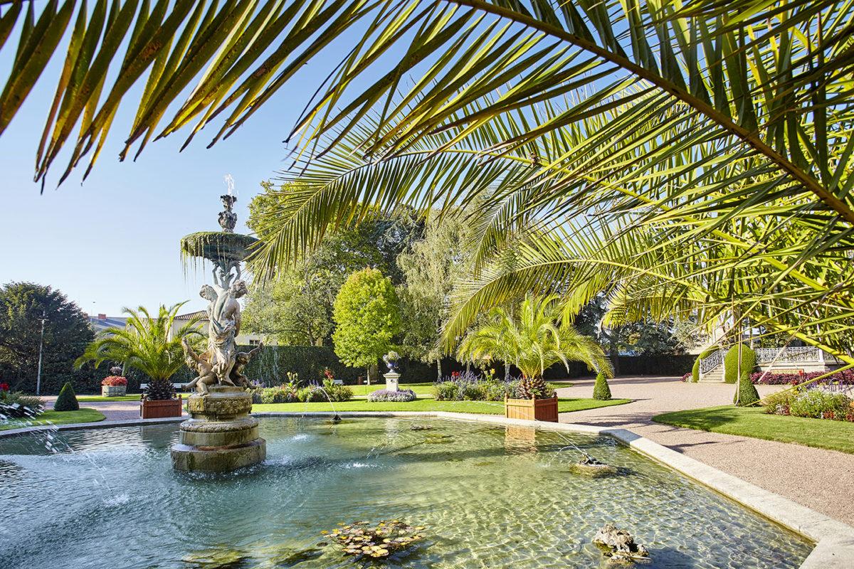 Jardin Dumaine à Luçon
