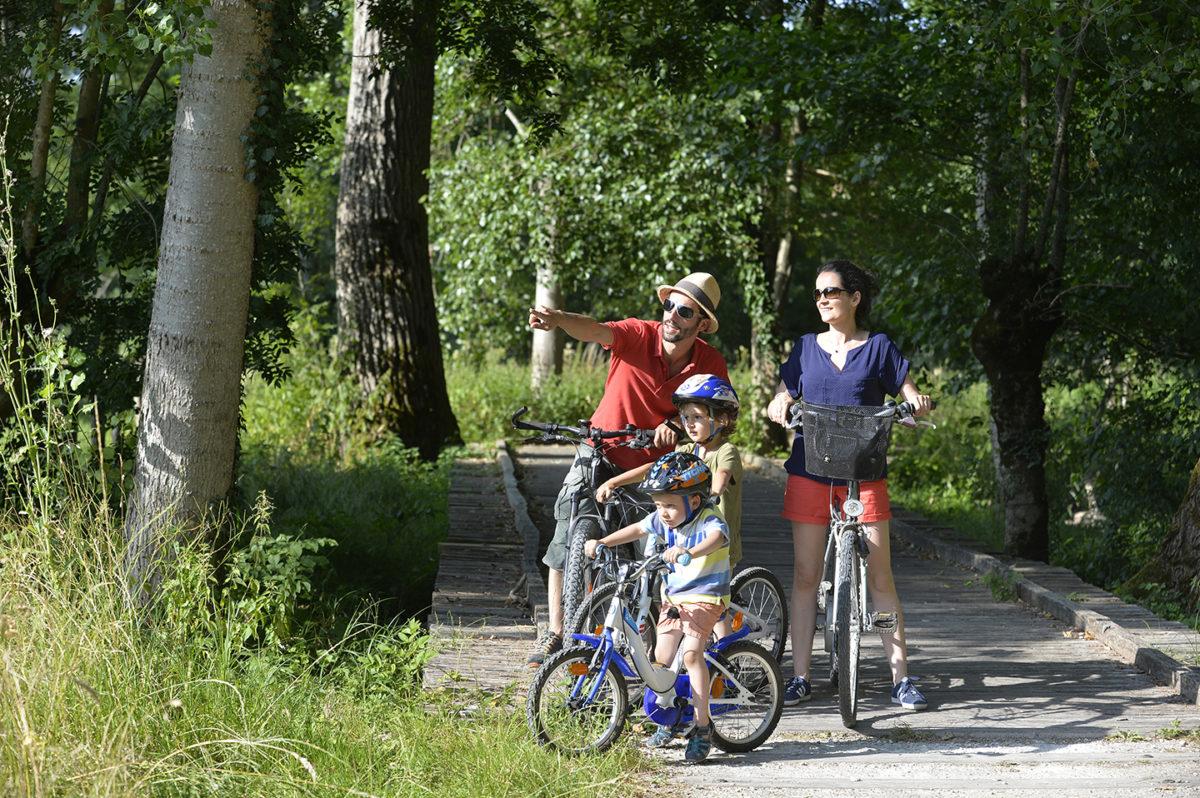 Vélo en famille en toute sécurité