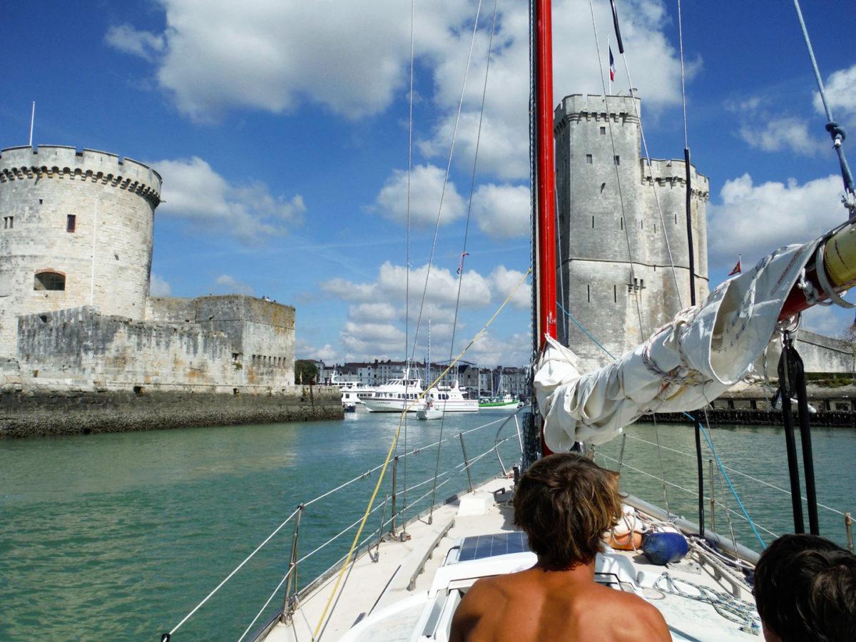 Croisière à bord de Louise II vers La Rochelle