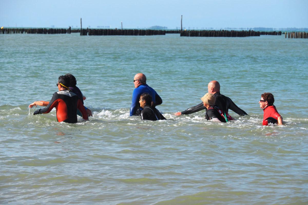 Le longe-côte ou la baignade sportive