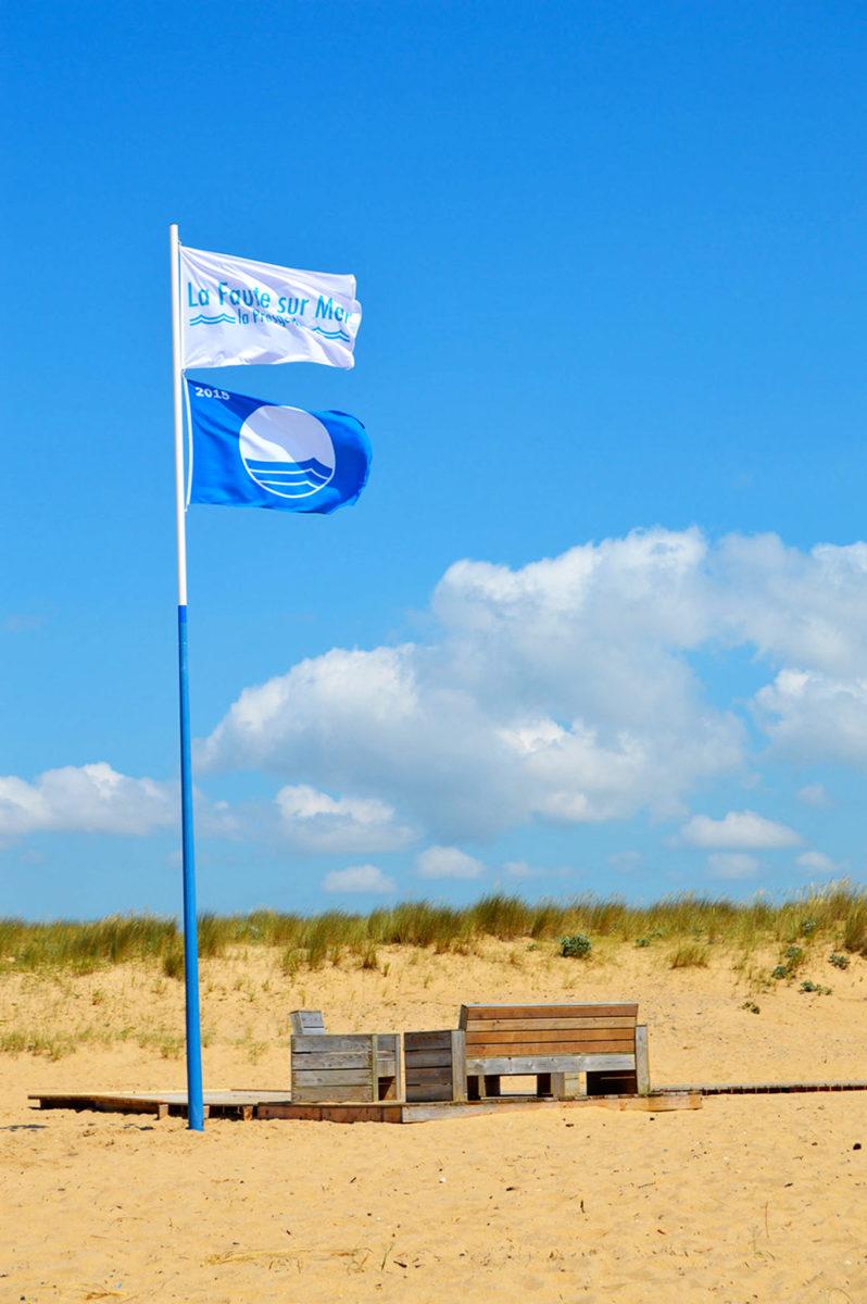 Deux plages de La Faute-sur-Mer sont labellisées Pavillon Bleu