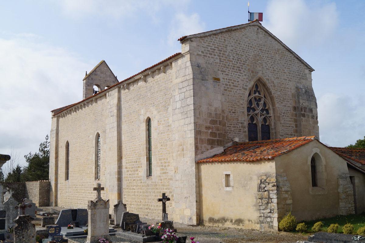 Église templière de Puyravault