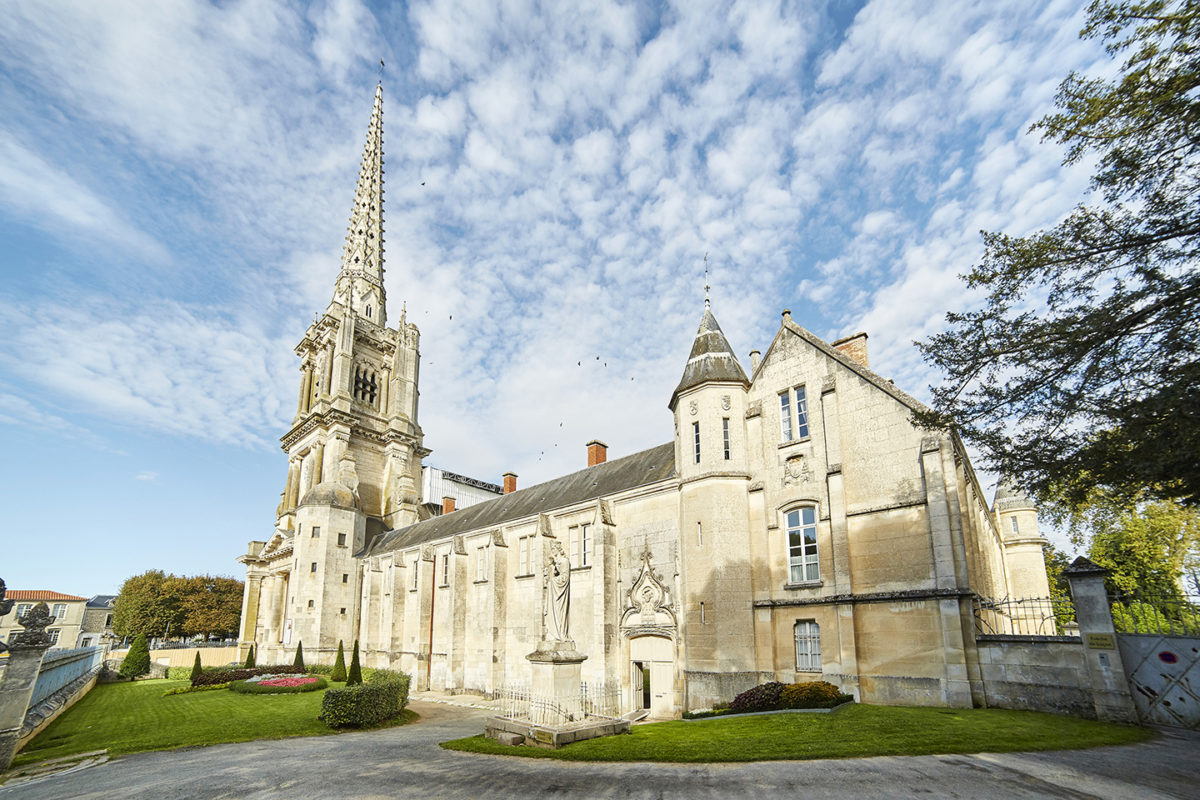 Cathédrale et cloître de Luçon